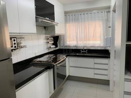 Apartamento Com 3 Dormitórios À Venda, 130 M² Por R$ 855.000,00 - Campestre - Santo André/sp - Ap11762