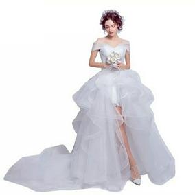 Sexi Vestido De Novia Ajustable Con Envio Gratis W-7207