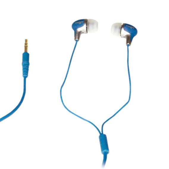 Fone De Ouvido In-ear 10 Hz - 20 Khz 14 Ohms - Azul