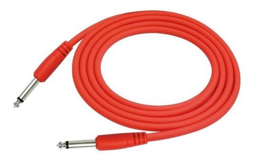 Cable Blindado De 6 Metros Instrumentos Plug A Plug 1/4