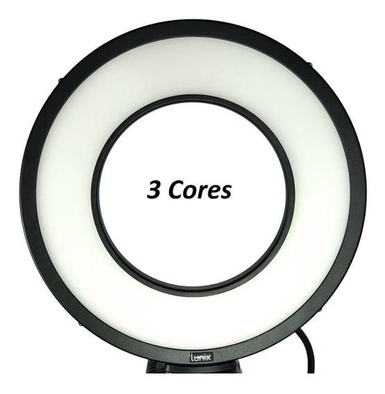 Iluminador Led Estúdio Original -3 Cores De Luz -25w Lnx325