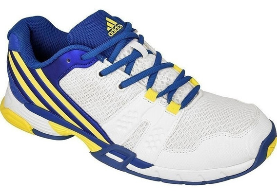 Tenis adidas Volley Team Futsal Volei Handball Branco