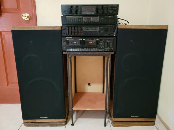 Componente Marantz Amplificador Equalizador Bocinas Cassette