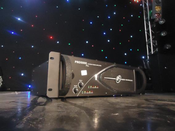 Amplificador De Potência Ll Audio Pro5000 1250 Watts Rms