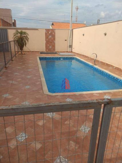 Área De Lazer Com 1 Dormitório À Venda, 80 M² Por R$ 320.000 - Residencial Parque Rochele Ii - Santa Bárbara D