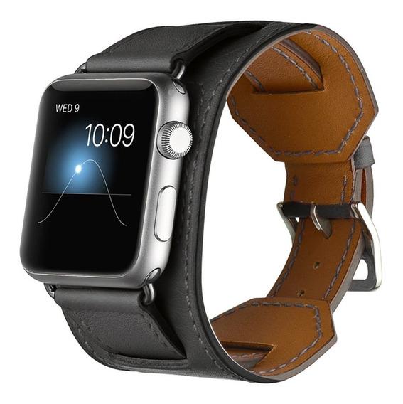 Valkit Bandas Correa De 42mm Para Apple Iwatch Band Negro