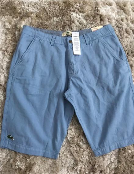 Bermuda Shorts Calção Lacoste Masculina