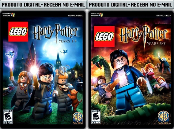 Lego Harry Potter Complete Years 1 A 7 - Pc - Envio Digital