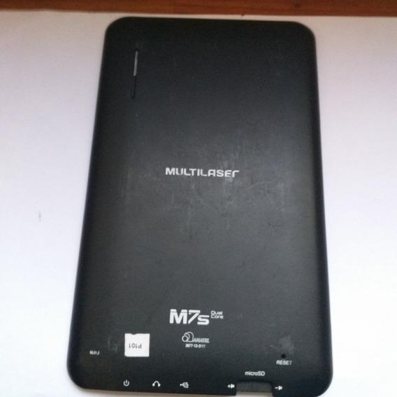 Tampa Traseira Do Tablet Da Multilaser, Modelo M7s Dual Core