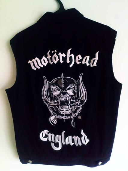 Jaqueta Colete Motorhead (battlejacket, Patch, Lemmy)