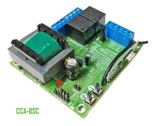 Central De Comando Placa Portão Eletrônico Rcg Cca-bsc