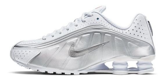 Nike Shox R4 Cinza