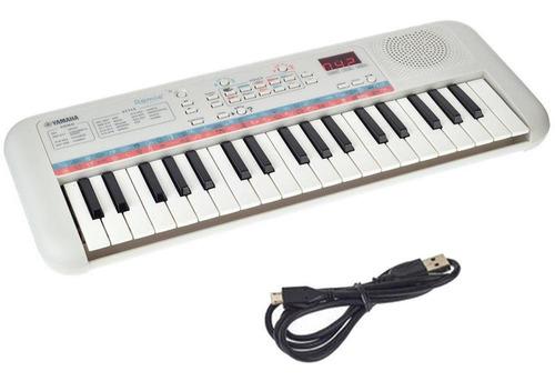 Teclado Infantil Yamaha Remie Pss-e30 Branco