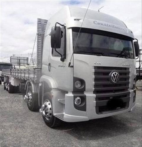 Vw 24.250  Bitruck Volkswagen Constellation Ano 2012