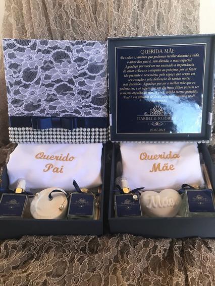 Lembrancinhas Casamento Personalizadas Caixa Pais Padrinhos