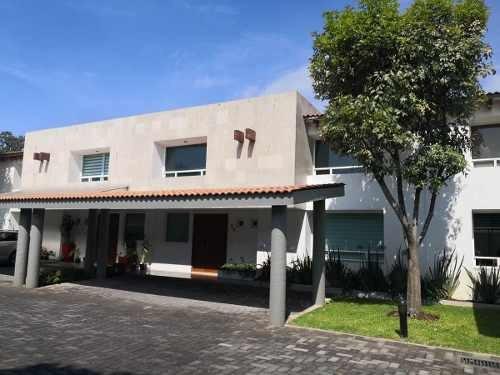 Renta Casa Amueblada Bosque De Los Encinos, Ocoyoacac, Mex.