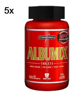 Kit 5x Albumix - 120 Tabletes - Integralmédica