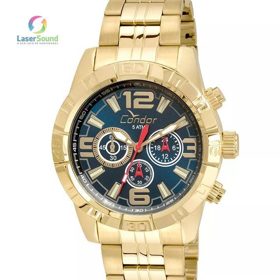 Relógio Condor Masculino Covd54ar/4a, C/ Garantia E Nf