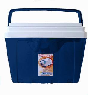 Caixa Térmica Cooler 16 Litros Capacidade 22 Lts 350 Ml Azul