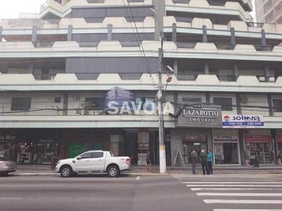 Sala Comercial Na Galeria Do Ed. Arlindo Correia, Na Av. Nereu Ramos, Meia Praia - 2043