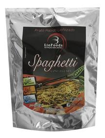 Comida Refeição Liofilizada Sabor Spaghetti Com Legumes 90g