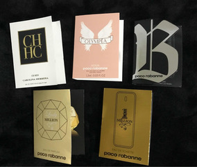 05 Amostras De Perfumes Importados Á Escolha