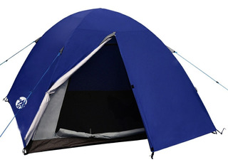 Carpa Waterdog Dome Il 3p Trekking Camping Outdoor Impermeab