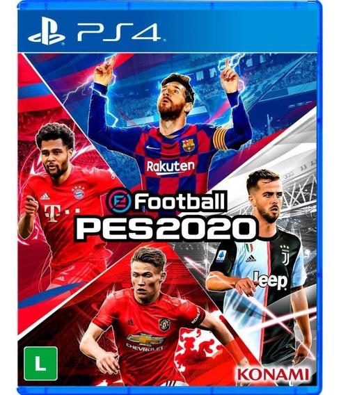 Pré-venda Pes 2020 Pro Evolution Soccer Efootball - Ps4