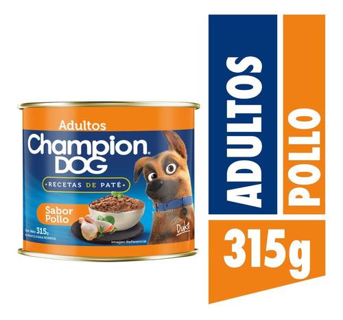 Champion Dog Recetas De Paté Pollo 315g
