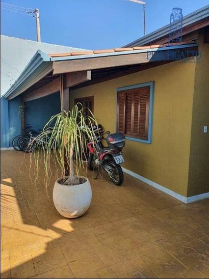 Casa Com 2 Dormitórios À Venda, 124 M² Por R$ 450.000,00 - João Aranha - Paulínia/sp - Ca2302
