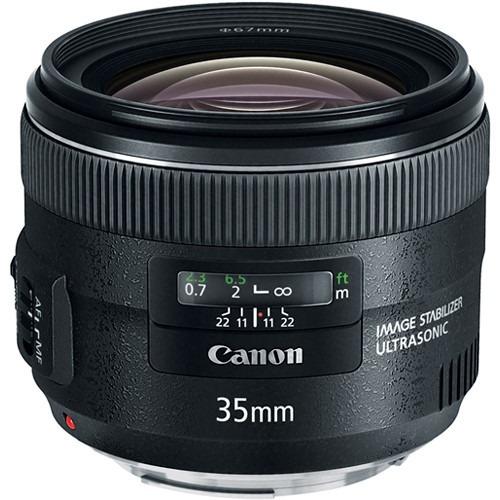 Lente Canon Ef 35mm F/2 Is Usm Garantia Brasil 12x S/juros