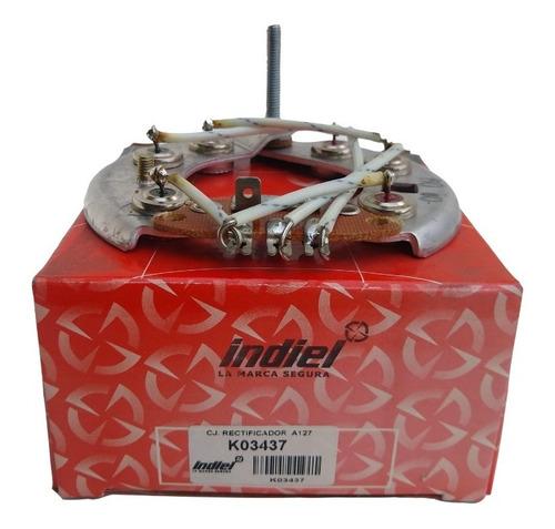 Imagen 1 de 2 de Placa P/diodos Fiat Duna Diesel Uno Regatta 100 Ford Falcon