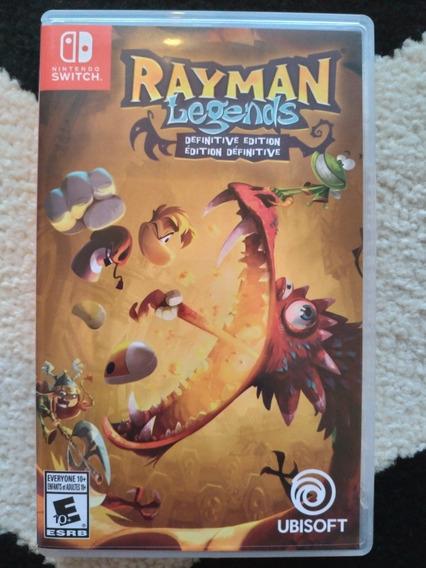 Rayman Legends Definitive Edition - Jogo P/ Nintendo Switch