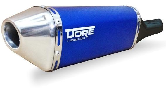Escape Ponteira Alumínio Dore + Curva Inox Xre 300