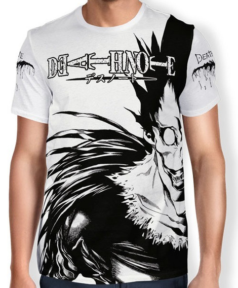 Camisa De Anime Ryuk - Death Note - Infantil