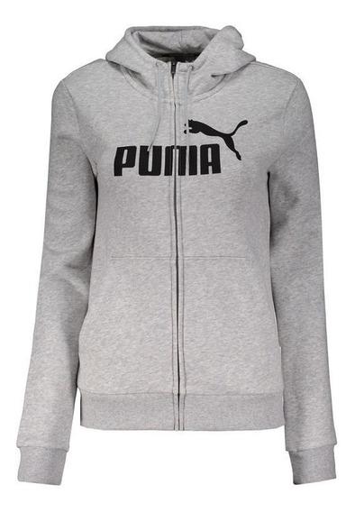 Jaqueta Puma Essentials Feminina Cinza