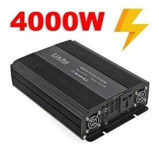 Inversor 4000 W 12v Para 220v 50hz Senoidal Geladeira!