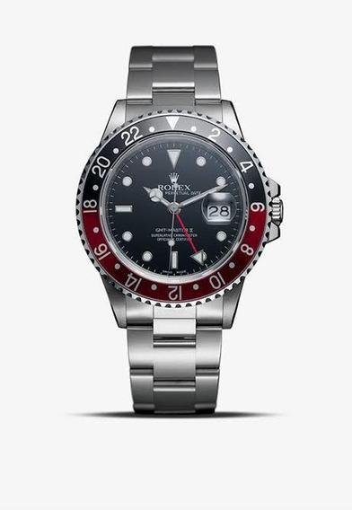 Rolex Gmt Master Il - Pulseira De Aço