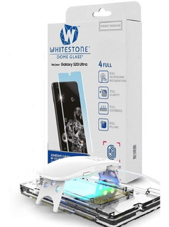 Vidrio Templado Samsung S20 S20 Ultra/+whiteston Dome Glass#