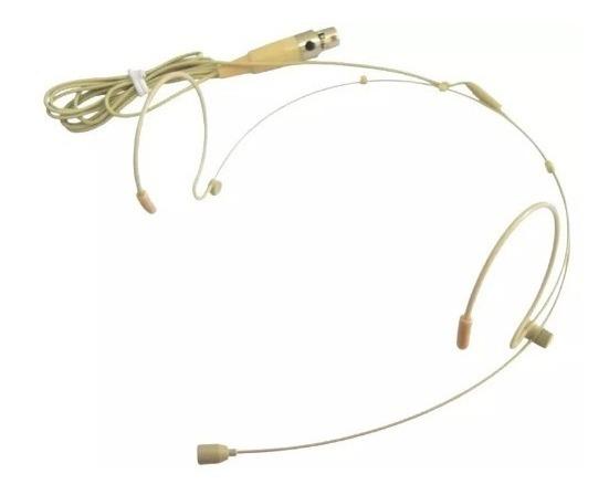 Microfone Headset Auricular Ht3c Karsect Com Mini Xlr 3 Pino