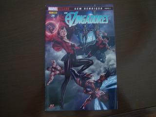 Hq Os Vingadores 26 Sem Rendição Marvel Legado Panini