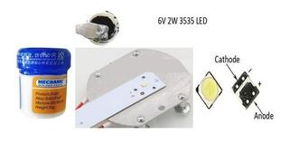 Paquete Para Reparación De Tv Backlight (led-estaño-plancha)