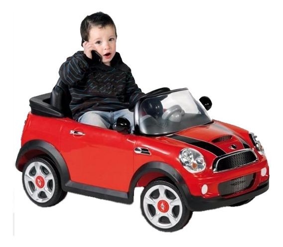 Mini Cooper Auto Bateria Electrico 12v Biemme Control Padres