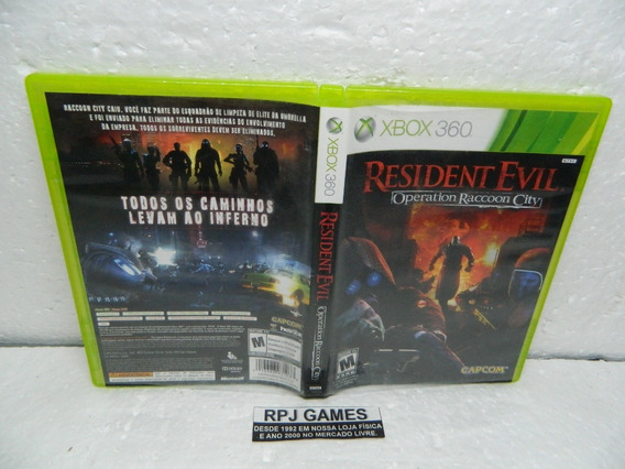 Resident Evil Operation Raccoon City Midia Fisica Xbox 360