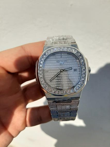 Reloj Automático Patek Phillipe Diamantes