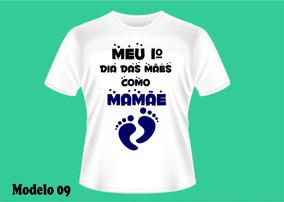 Camisetas Personalizadas Dia Da Mães - Gravida Gestante