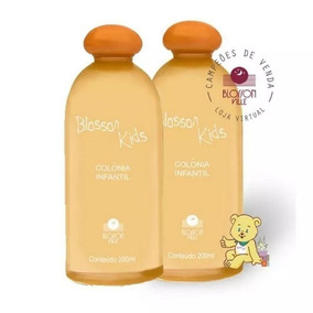 Kit 2 Und. Perfume Infantil Blosson Ville Kids Frutal 200ml