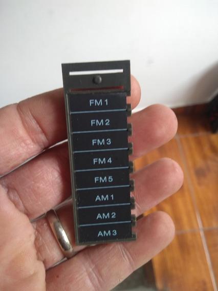 Plaquinha Indicadora De Memória Reciver Sony Legado Linear