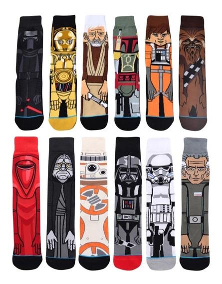 Star Wars Happy Socks 12 Pares En Uno