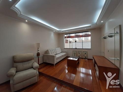 Imagem 1 de 30 de Ref.: 6204 - Sobrado Semi-mobiliado Com 03 Dormitórios 01 Suite - Vila Valparaíso, Santo André - 6204